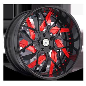 AF832 5 Black and Red