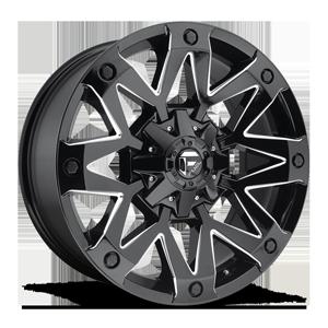 Ambush - D555 5 Gloss Black & Milled