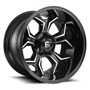 Avenger - D606 5 Gloss Black & Milled
