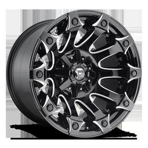 Battle Axe - D578 5 Gloss Black & Milled