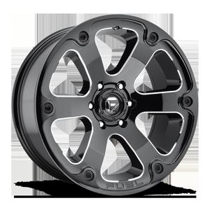 Beast - D562 6 Black & Milled