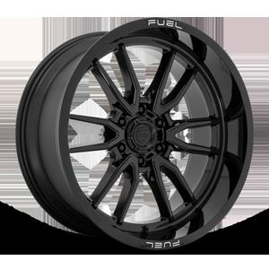 Clash - D760 6 Gloss Black 22x10