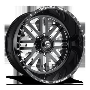 FF33 8 Gloss Black & Milled