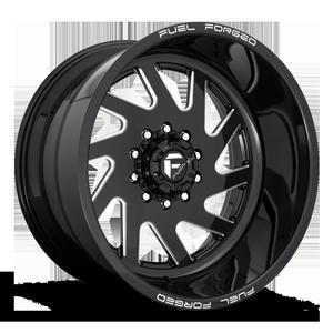 FF65D - Super Single Front 10 Gloss Black & Milled