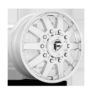 Maverick Dually Front - D536 10 Lug 10 Chrome
