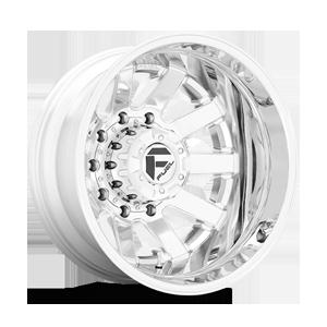 Maverick Dually Rear - D536 10 Lug 10 Chrome