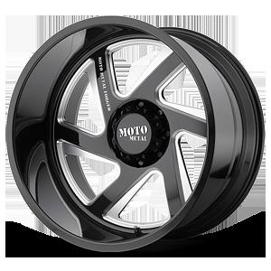 MO400 8 Gloss Black Milled