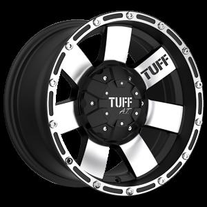 T-02 5 Flat Black w/ Machined Face & Flange