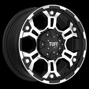 T-03 5 Flat Black w/ Machined Face & Flange