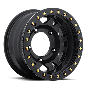 103 Xtreme Wide 5 True Bead-Lock OFF RD USE ONLY 5 Satin Black with Satin Black Bead-Lock