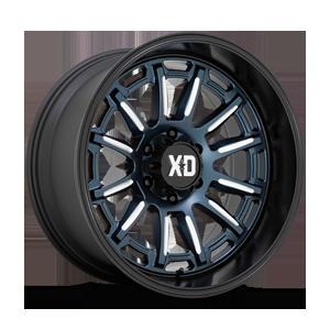 XD865 Phoenix 6 Metallic Blue Milled with Black Lip