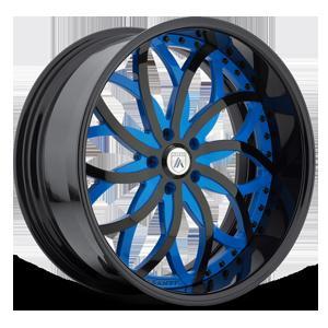 AF821 5 Blue and Black