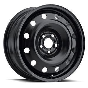 Atom 5 Steel Wheel Satin Black